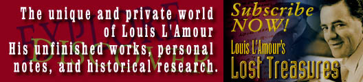 Louis L'amour's Lost Treasures Volume 1 ARC Proof Advance Paperback 10/17